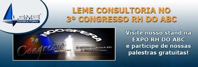 Leme Consultoria - Empresa patrocinadora Conarh 2010