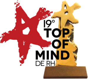 TOP OF MIND 2016 - troféu