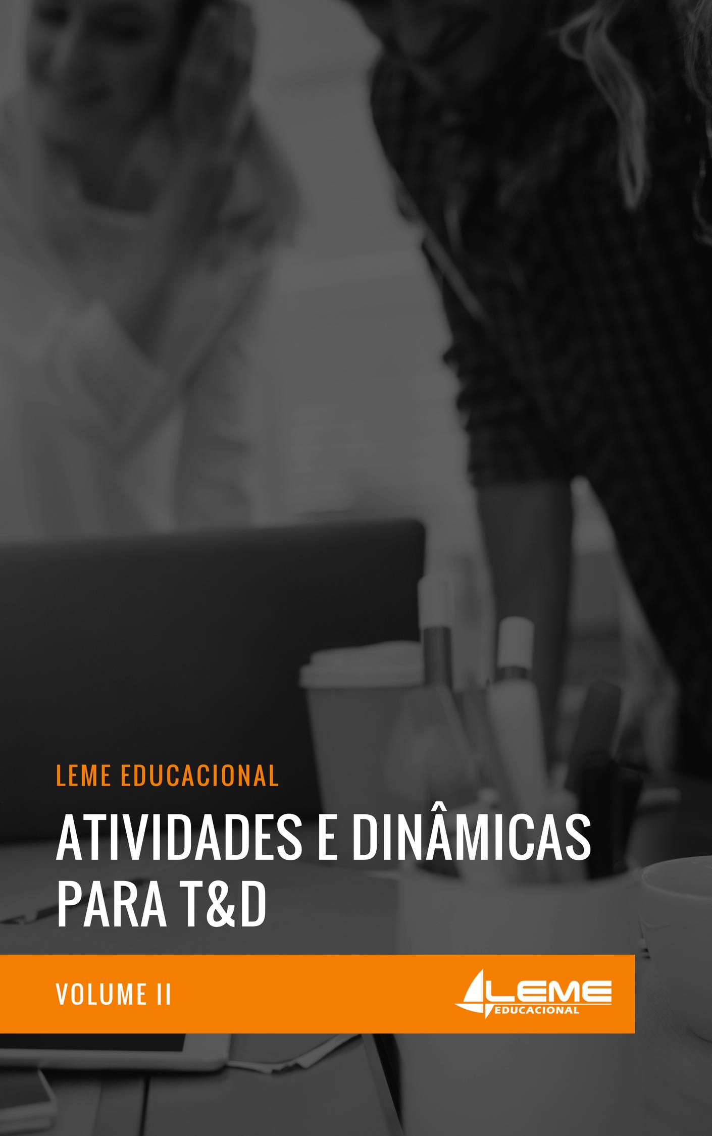 E-book Atividades e Dinâmicas para T&D II