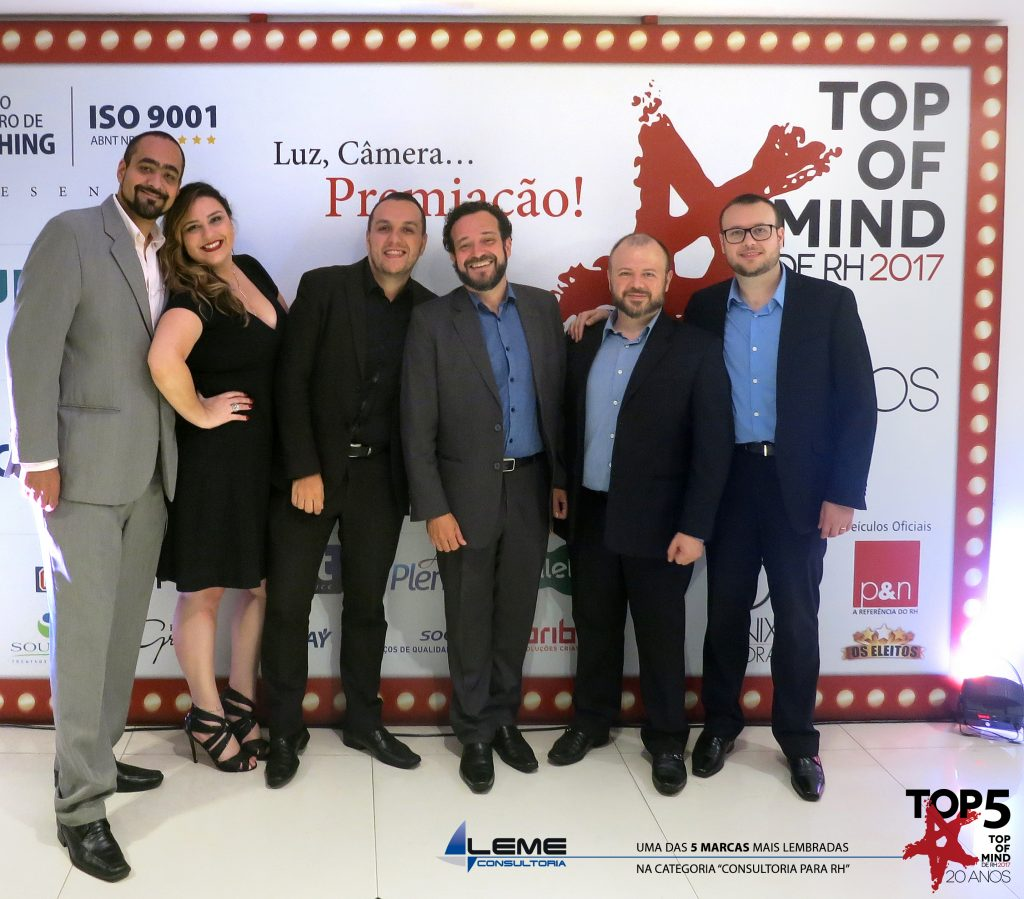 Leme Consultoria - TOP5 do Top of Mind de RH em 2017
