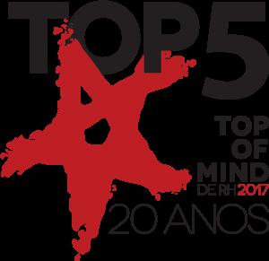 Top5 do Top of Mind 2017 - Consultoria para RH