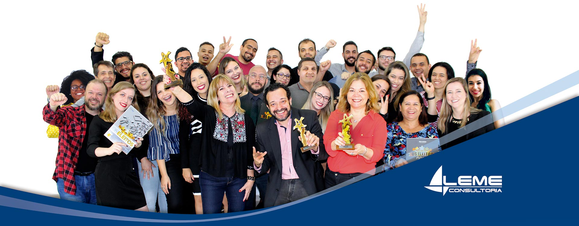 Equipe Leme Consultoria - Tricampeã do Top of Mind